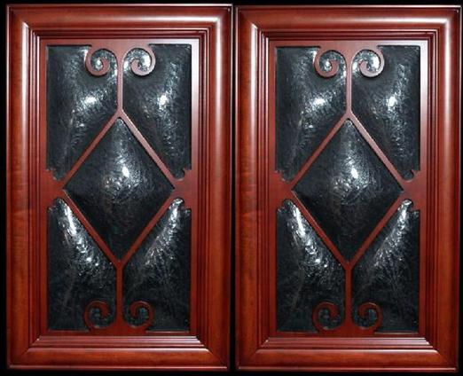 Anthonys Restorations, curved glass, antique cabinet glass